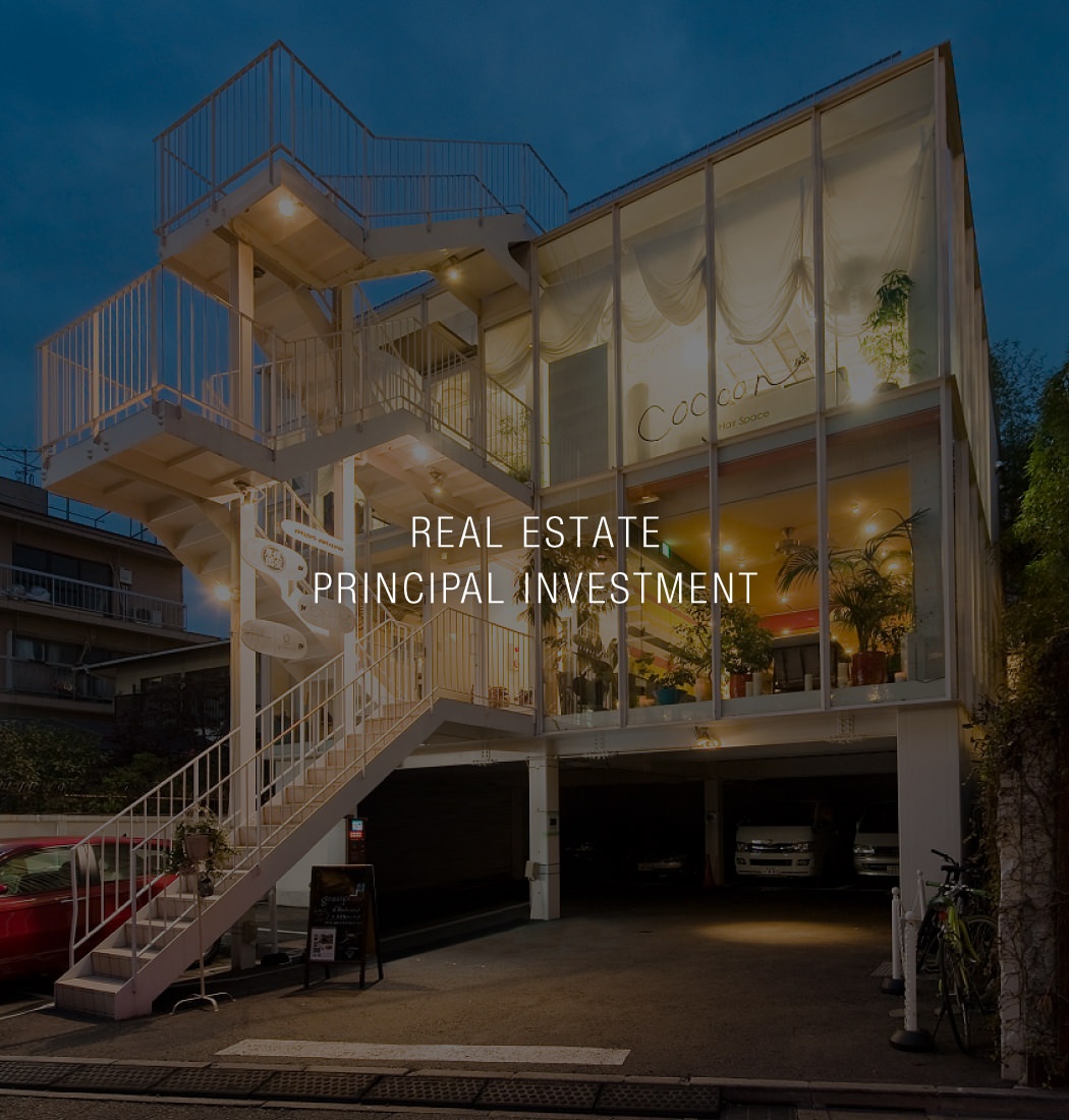 REAL ESTATE PRINCIPAL INVESTMENT